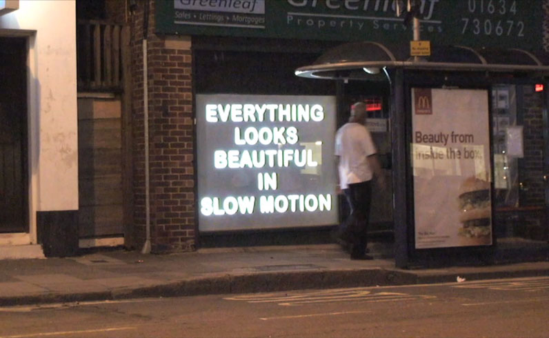 Everything Looks Beautiful in Slow Motion